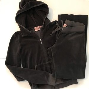 Juicy Couture Hooded Track Suit